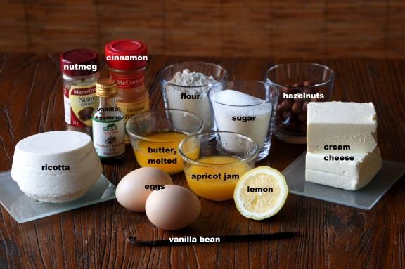 Ingredients: Vanilla Spice Cheesecake