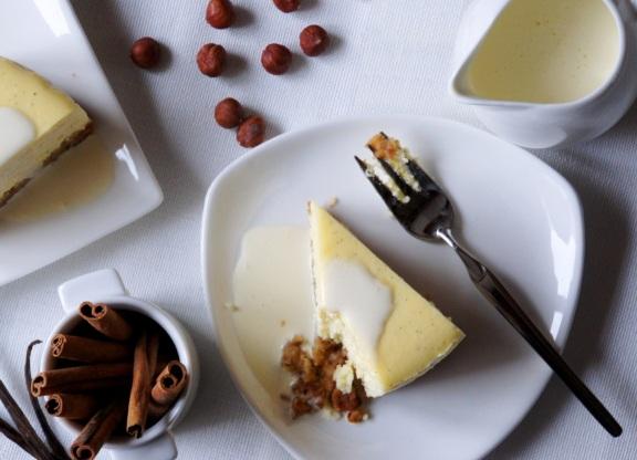 Vanilla Spice Cheesecake