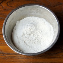 Mix dry ingredients well