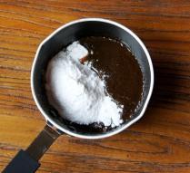 Stir in icing sugar