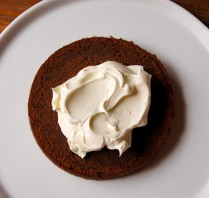 Third of mascarpone cream