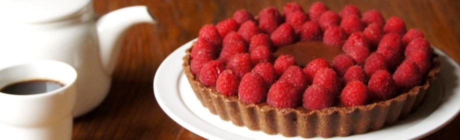 Chocolate Raspberry MousseTart