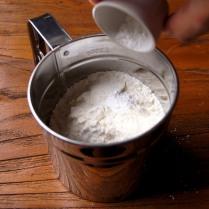 Flour + baking powder