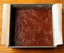 Spread mixture into pan