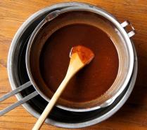 Stir until mixture is smooth