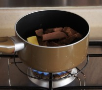 Melt, stirring over low heat