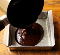 Pour into the form