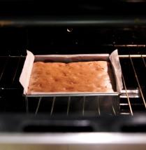 Cool in the oven with door ajar