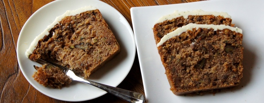 Zucchini and Walnut Cake