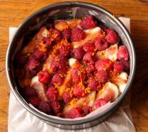 Sprinkle the zest over berries