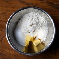 Flour+sugar+200g butter