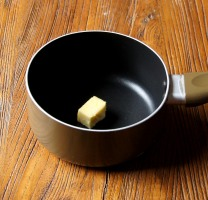 Remaining butter in the pan