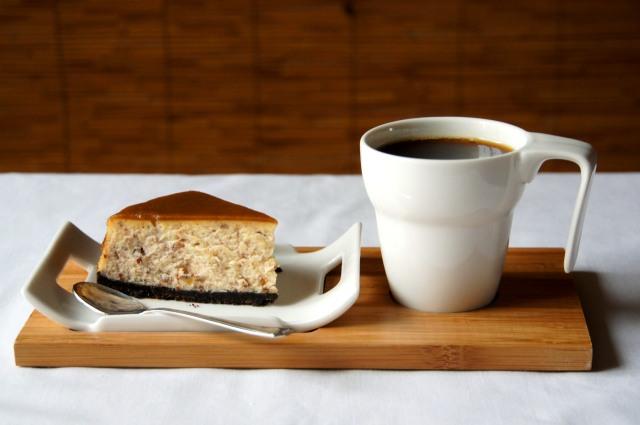 Butterscotch Pecan Cheesecake