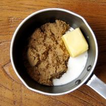 Brown sugar+butter+cream