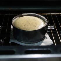 Cool in oven, door ajar