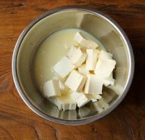 Cream cheese+condensed milk