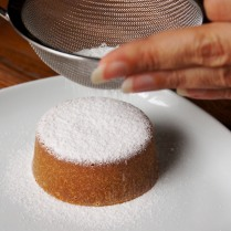 Dust with sifted icing sugar