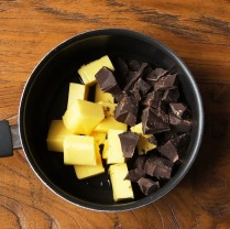 Chocolate+butter+orange water