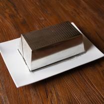 Invert dessert onto the plate