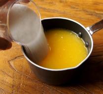 Orange juice+sugar