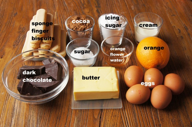 Ingredients: Rich Chocolate and Orange Mousse Dessert