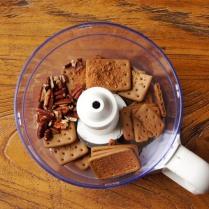 Biscuits+1/3 pecans+cocoa