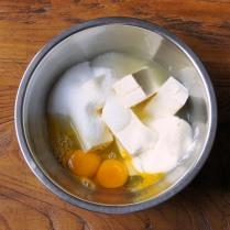 Cheese+sour+eggs+juice+225g sugar