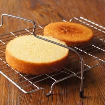 Split cake into layers