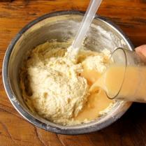 Stir in buttermilk