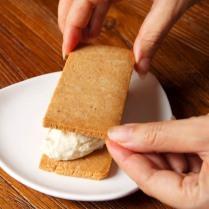 Top with shortbread