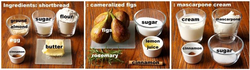 Ingredients: Mascarpone Figs