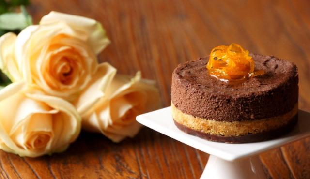 Cardamom Orange Chocolate Mousse Cakes