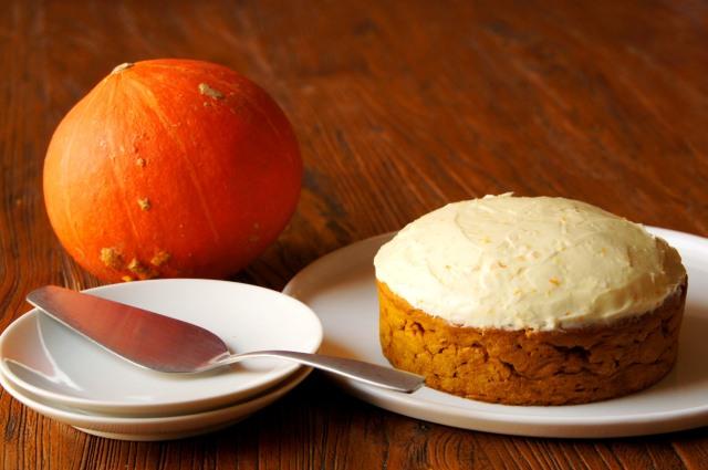 Orange and Spice Pumpkin Cake
