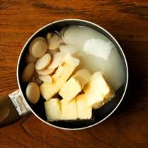 Butter+sugar+water