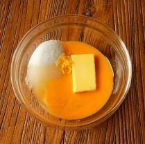 Egg+juice+sugar+butter