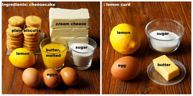 Ingredients: Lemon Curd Cheesecake