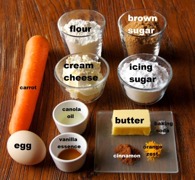 Ingredients: Carrot Cake Sandwich Cookies