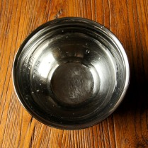 Water in a bowl