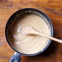 Boil, stirring, until golden