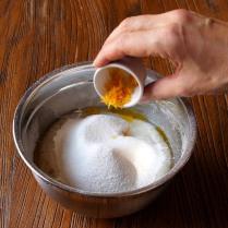 Add orange zest