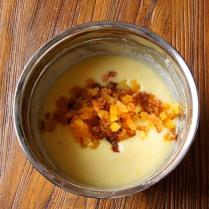 Add chopped apricots