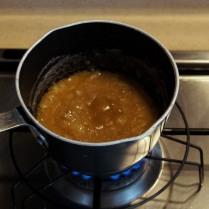 Bring to a boil, remove