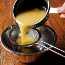 Strain into a bowl