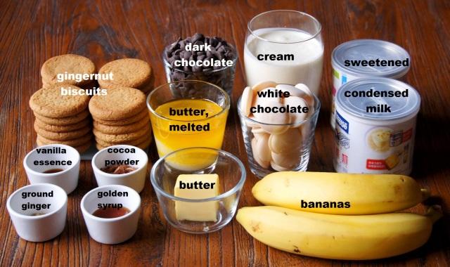 Ingredients: Doube Chocolate Banoffee Tart