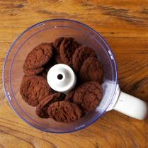 Biscuits in processor