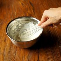 Beat sour cream
