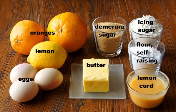Ingredients: Citrus Cake