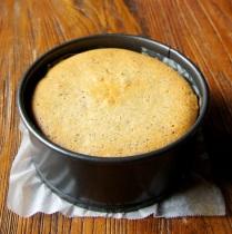 Bake 2hrs, leave in tin 20min