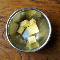 Butter in a bowl