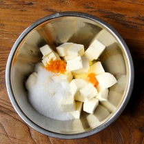 Cheese+zest+sugar+egg